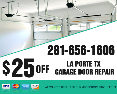 Laporte TX Garage Door Repair Coupon