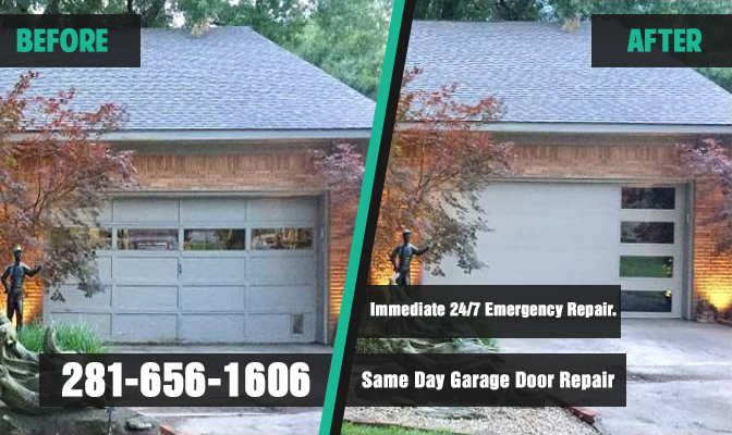 Laporte TX Garage Door Repair banner
